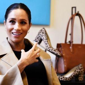 Ann Taylor Shoes - Ann Taylor^Drea leopard haircalf pumps sz 7.5